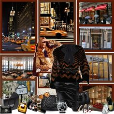 """New York, New York ~ 5th Avenue ~ Shop Til You Drop In The City That Never Sleeps! ;)"" by shazgoldcoast ❤ liked on Polyvore"