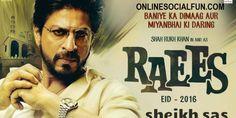 Shah Rukh Khan In & As Raees | HD Trailer | Releasing 25 Jan  2017 #Shah_Rukh_Khan_As_Raees #HD_Trailer #Releasing 25 Jan 2017 #Raees_Full_Movie #Raees_Songs_HD Watch online on http://onlinesocialfun.com