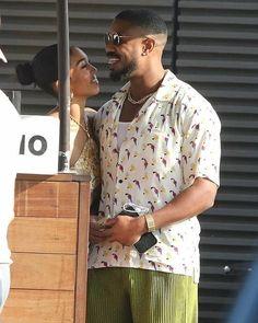 Lori Harvey, Michael B Jordan, Make Time, Girlfriends, Hip Hop, Jordans, Men Casual, Shirt Dress, Mens Tops