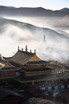 Ancient architecture in SiChuang, China