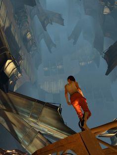 Portal 2 Concept Art #chell #gamer #geek