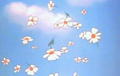 I found this Cute Aesthetic Falling Flower Wallpaper!