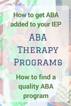 ABA Therapy Programs for kids with autism (and other disabilities!) are very popular. But they are not all created equal. Read how to choose an ABA program and add it to your IEP. Tap the link to check out fidgets and sensory toys! Aba Therapy Activities, Autism Activities, Autism Resources, Aba Therapy For Autism, Speech Therapy, Sensory Therapy, Sorting Activities, Play Therapy, Teaching Resources