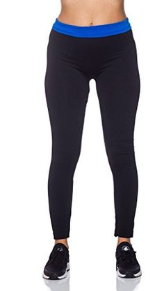 0dd3c9ff21 Womens High Waist Slimming Fleece Lined Legging Pants Tights Black Peach --  Visit the image