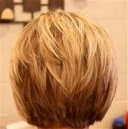 Short a Line Bob Hairstyles Back View - Bing Images