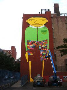 Inspirational New York City street art from Futura