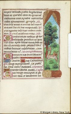 Book of Hours, MS M.276 fol. 50r - Images from Medieval and Renaissance Manuscripts - The Morgan Library & Museum