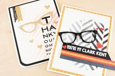 Sprinkled With Glitter: Geek Is Chic --- Using Stencils, Inking and Embossing Paste
