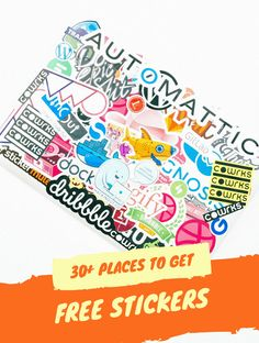 Free Stickers: 30 Amazing Places to Get Free Preppy Stickers by Mail Free Preppy Stickers, Free Stickers, Wedding Consultant, Free Stuff By Mail, Beautiful Collage, All Family, Crafts For Teens, Free Samples, As You Like