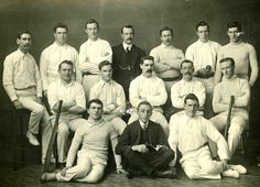 Members of the Ascot Vale Presbyterian Church Cricket Club Team. Part of the Essendon District Church Cricket Association.