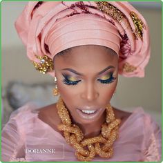 I love this color for my traditional wedding! It's very light yet stands out perfectly 😍 African Dresses For Women, African Women, African Fashion, African Clothes, African Style, Ethnic Fashion, African Art, Men's Fashion, Face Makeup Tips
