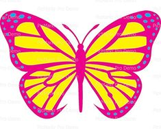 12 Sheet  Pink  Yellow Butterfly  Edible CakeCupcake Party Topper ** You can get more details by clicking on the image.