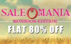 Get Flat 80% off at all the #women and men #fashionwear.