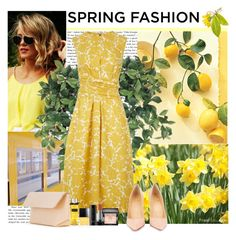 """""""Springtime"""" by polybaby ❤ liked on Polyvore featuring Karlsson, Hobbs, Christian Louboutin, Iala Díez, Butter London, Givenchy, Marc Jacobs and springdress"""