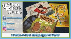 A Bunch of Great Disney Hyperion Books and Fun at the Plaground  Disney Book Group periodically sends me various Disney Hyperion books to read and review for free. I read them to the kids and tell you about them on this vlog and my blog. Opinions are my own. #Ad #Spon #ProductProvided  Andrew and I had a little play time at the local playground. He was loving the zipline and then pretending to fly like an airplane. I had fun running around with him.
