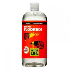 Ecofriendly cleaning product: Better Life Simply Floored Floor Cleaner - 32 fl oz