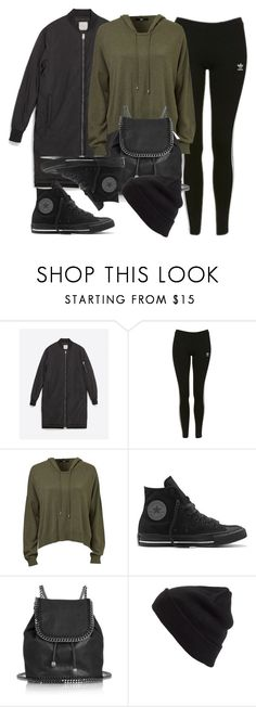 """Sin título #11781"" by vany-alvarado ❤ liked on Polyvore featuring Zara, Topshop, Converse, STELLA McCARTNEY and BP."