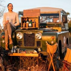Wherever you go becomes a part of you somehow  #seetheworld #safaristyle #landroverchicks #womenwhotravel @melvillandmoon