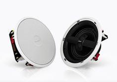 Virtually Invisible 791 speakers は、従来の天井埋め込み型スピーカーとは一線を画す音の広がり感と、量感あふれる低音を再生するハイファイオーディオ用の天井埋め込み型スピーカーです。791 speakers を天井に埋め込んで設置することで、インテリア性を損なうことなく最高のサウンドを実現できます。