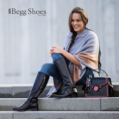 Shop online for ladies knee high boots. From top brands such as Rieker, Fly London and more. Leather Boots, Leather Bag, Store Online, Knee High Boots, Bags, Shoes, Women, Fashion, Handbags