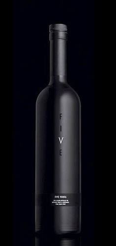 #Black Wedding Branded Bottle