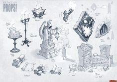 battle chasers nightwar concept art: 13 тыс изображений найдено в Яндекс.Картинках