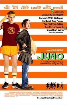Um filme de Jason Reitman com Ellen Page, Michael Cera, Jennifer Garner, Jason Bateman. Juno MacGuff (Ellen Page) é uma jovem de 16 anos que acidentalmente engravidou de Paulie Bleeker (Michael Cera), um grande amigo com quem transou apen...