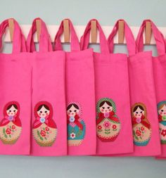 I LOVE this for a set of reusable shopping bags <3