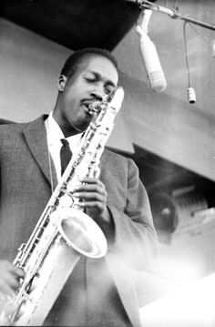 Hank Mobley at the Newport Jazz Festival with Art Blakey & the Jazz Messengers, 1959