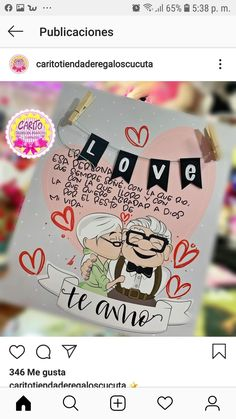 Cute Birthday Gift, Diy Birthday, Birthday Cards, Soy Luna Logo, Love Gifts, Diy Gifts, Up Pixar, Birthday Card Drawing, Notes Design
