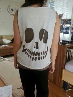 Need: T-Shirt und Schere - voilà!