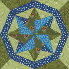 Woven Star Ring – American Barn Quilts
