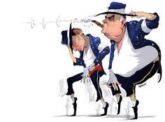 Tonight's #illustration @australian @AusOpinion @chriskkenny the #moonwalkers #Abbott #hockey