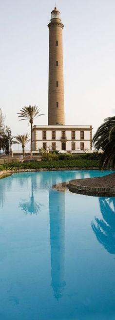 Maspalomas lighthouse, Gran Canaria, Spain