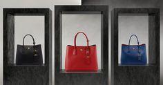 #Prada'nın #DoubleBag koleksiyonu tüm renkleriyle MosModa'da! https://www.mosmoda.com.tr/prada-double-bag-collection
