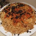Kabuli Pulao is Afghanistan's national dish, which I think is a perfect answer to Mughlai Biryani. In Afghan culture, Kabuli Pulao is a delicious 'must-be-served' food. Afghan cuisine isn't as richly spiced as Mughlai cuisine in Indian sub-continent, but...