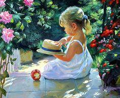 Mothers happiness by Vladimir Volegov