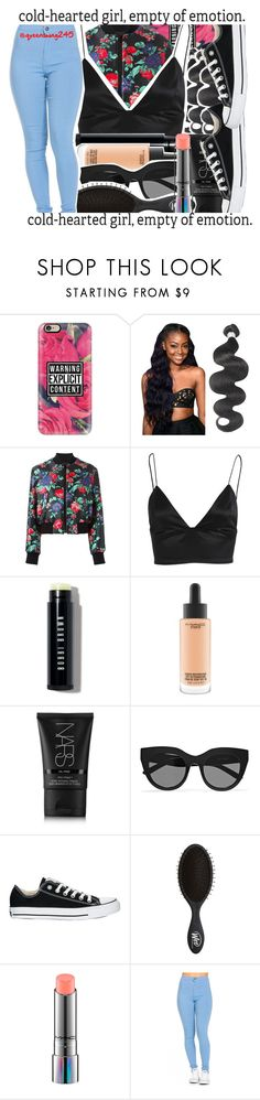 """""""Hip Hop x August Alsina"""" by queenswag245 ❤ liked on Polyvore featuring Casetify, MSGM, Bardot, Bobbi Brown Cosmetics, MAC Cosmetics, NARS Cosmetics, Le Specs and Converse"""