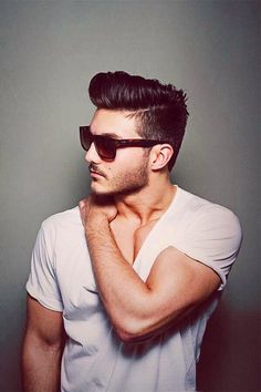 How To Style Men's Hair Inspiration Brandon Hoang Bhoang23 On Pinterest