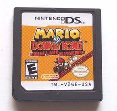 Donkey Kong: Mini-Land Mayhem (Nintendo DS, for sale online Nintendo Dsi Games, Ds Games, Donkey Kong, Mario, Video Game, Tech, Ebay, Random, Fun