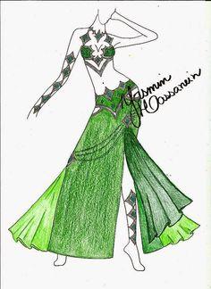 Atelier Yasmin Hassanein - Trajes para Dança do Ventre - Bellydance Costumes: New Designs by Yasmin Hassanein®