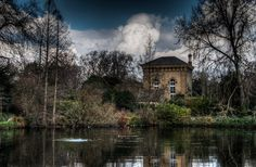 The Pump House, Battersea Park    Con­tinu­ing our visit to Bat­ter­sea, this is the Pump House in the park.