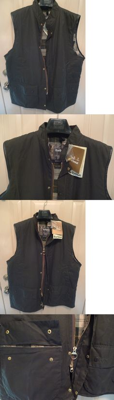 Vests 178080: Barbour- A224 Westmorland Wax Cotton Waistcoat-New Old Stock W Tag-Made@ Uk-Xxl -> BUY IT NOW ONLY: $249 on eBay!