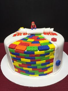 Ironman Lego cake!