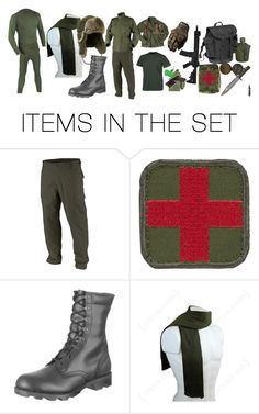 """TAT Army Forces Uniform (NEW, Cold Weather)"" by louis-sargent ❤ liked on Polyvore featuring art"