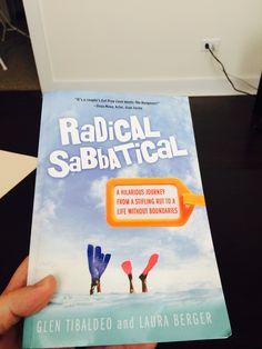 Dave's in-flight entertainment! #RadicalSabbatical #travel #bestseller #books