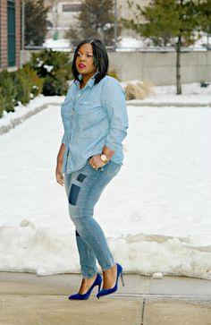 CurvEnvy - h&m + plus size jeans