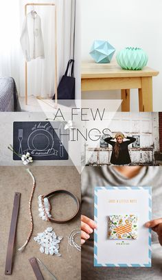 A Few Things: To Make (w/DIY links)