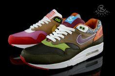 """Nike Air Max 1 """"What The One"""" Custom"""