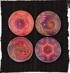 """""""Henna Magnets"""" from the new Fall Karma collection. Boho inspired. Prairie Patches, Lawrence, KS, (785)749-4565."""